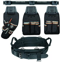 Modular Tool Pouch System - Build your own tool belt and carry only the tools you need with the Click Lock™ Modular Tool Pouch System. Then store pouches in your garage, shop or work van with our Wall Rack. Rotate between four styles of pouches for an easy change from belt to wall rack.