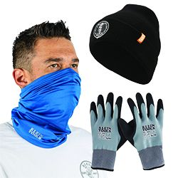 Weather Protection Workwear - With all the conditions that mother nature can throw at you on a jobsite, it is important to have proper protection from the weather. Klein Tools has you covered, with both warming and cooling gear, so no matter what the season, you can be protected from the elements and focus on the job at hand.
