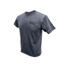 mba00042-1 Hanes® Tagless® T-Shirt Grey, Medium