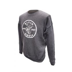 MBA00045-2 Crewneck Sweatshirt Grey, L