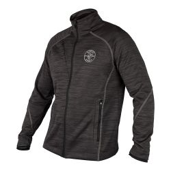 MBA00097-1 North End® Zipper Fleece Jacket, Lineman Logo, M