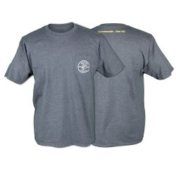 MBA00121-3 Pocket T, Short Sleeved, Gray, Lineman Logo, XL