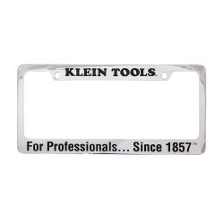 mbv00026 Chrome-Brass License Plate Frame
