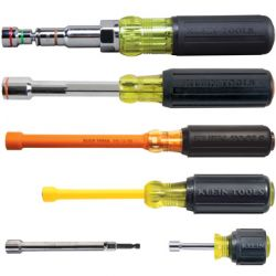 Nut Drivers - Klein Nut Drivers deliver performance, durability, and precision. Whether you're looking for an SAE Nut Driver or Metric Nut Driver, a Nut Driver Set or a single Nut Driver, you can be assured of receiving a tool made with the highest quality materials and superior workmanship.