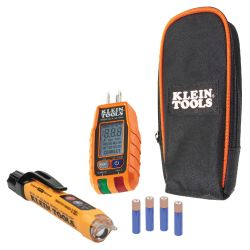 RT250KIT Premium Non-Contact Voltage and GFCI Receptacle Electrical Test Kit