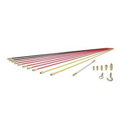 SRS56980 Deluxe Fish Rod Set, 33-Foot, 19-Piece