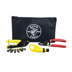 VDV026-211 Coax Cable Installation Kit with Zipper Pouch