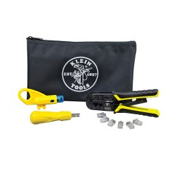 Twisted Pair Installation Kit with Zipper Pouch