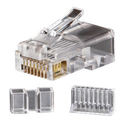 VDV826-603 Modular Data Plug RJ45 CAT6, 25-Pack