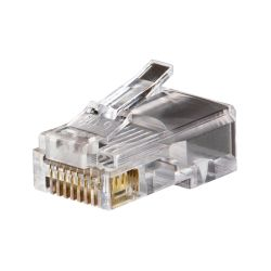 VDV826-611 Modular Data Plugs RJ45, CAT5e, 100-Pack