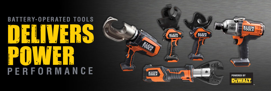 Klein Tools - Battery Operated Tools