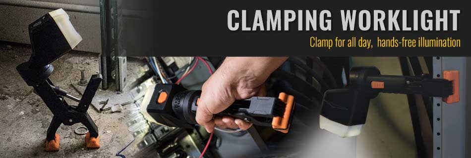 Klein Tools - Clamping Work Light