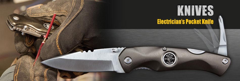 Klein Tools - Electrician's Pocket Knife