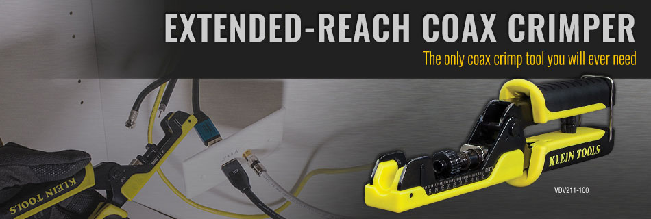Klein Tools - Extended Reach Crimper