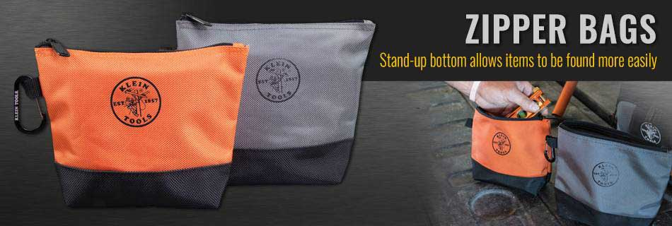 Klein Tools - Stand-Up Zipper Bags, 2 Pk