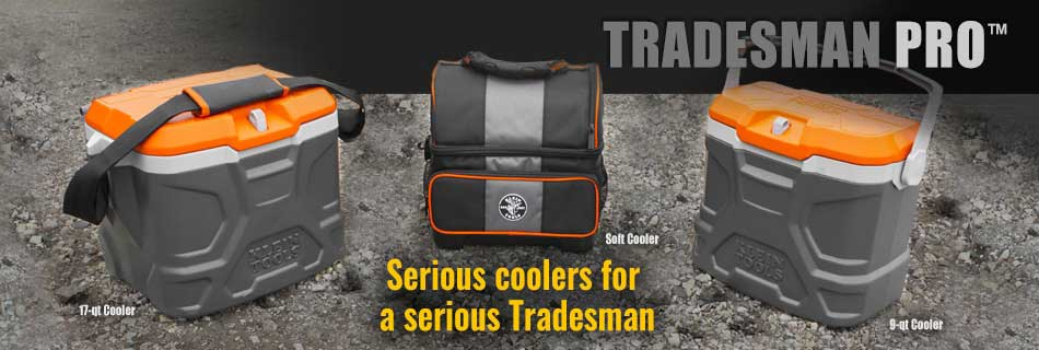 Klein Tools - Tradesman Pro Coolers