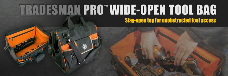 Klein Tools - Wide-Open Tool Bag