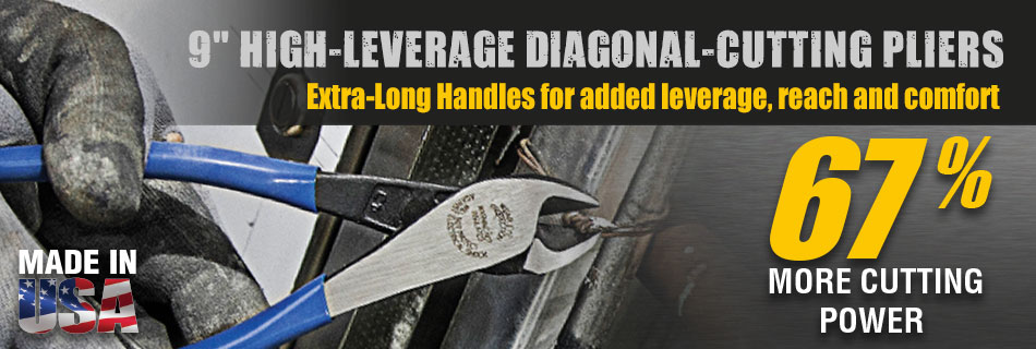 Klein Tools - New High-Leverage Diagonal-Cutting Pliers