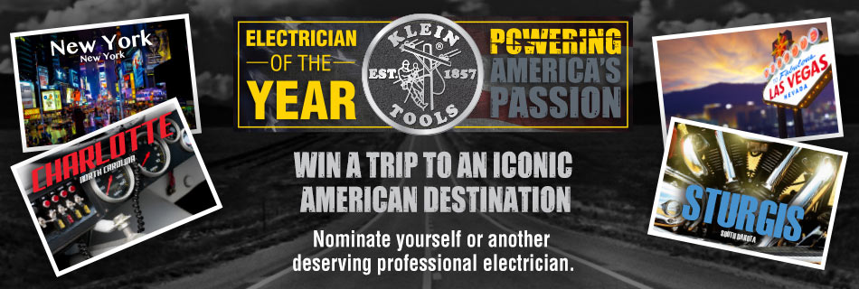Klein Tools - 2017 Electrician of the Year