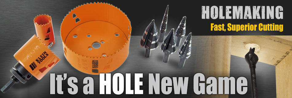 Klein Tools - Holemaking Products and Accessories