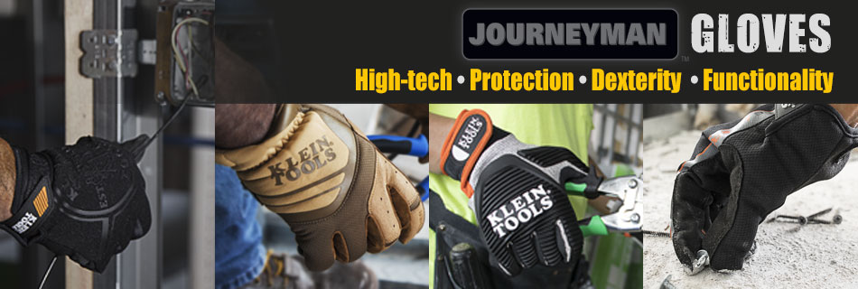 Klein Tools - New Journeyman Gloves 2016