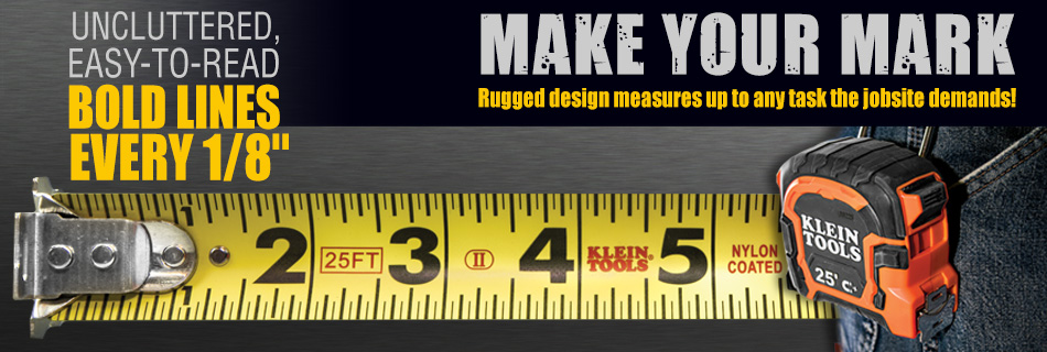 Klein Tools - New Tape Measures