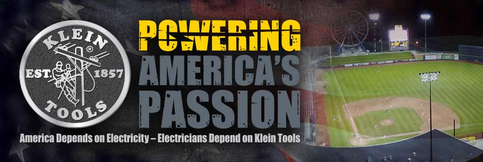 Klein Tools - Powering America's Passion - Baseball