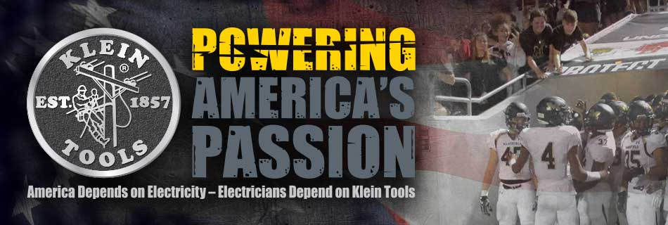 Klein Tools - Powering America's Passion - Friday Night Lights