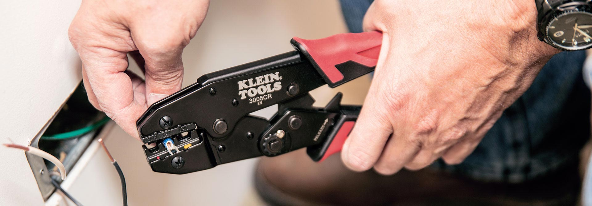 Three crimpers in one tool!