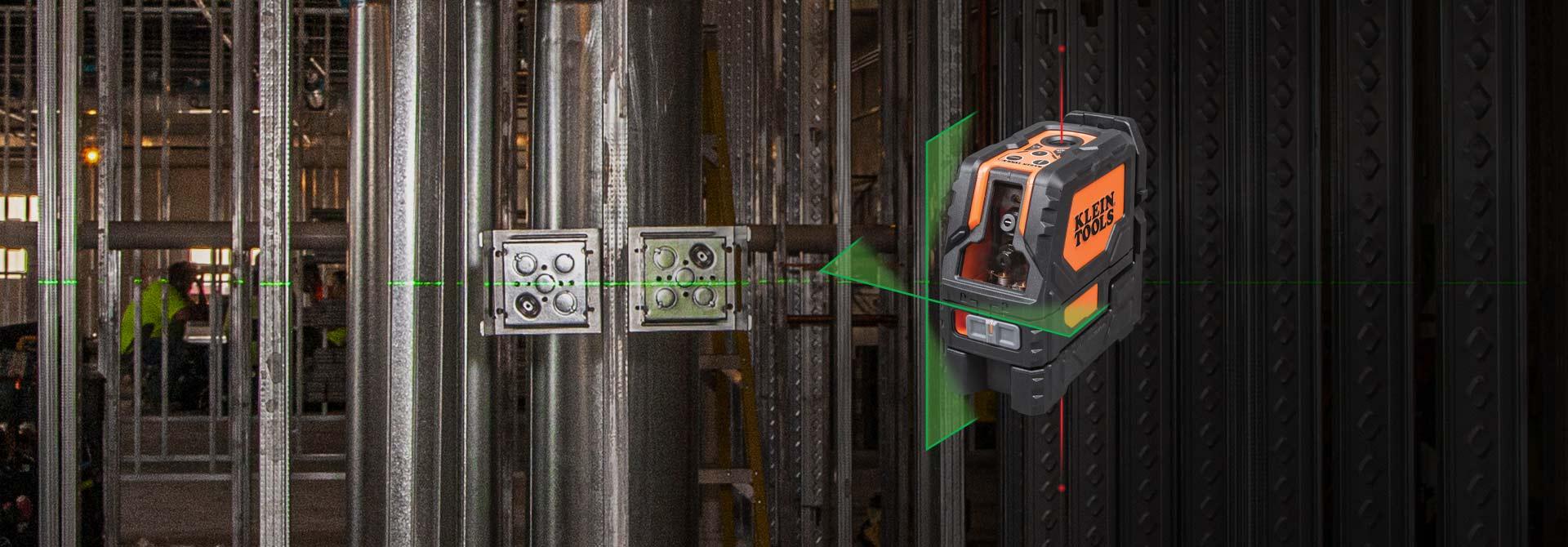 Self-Leveling \r\nCross-Line Laser Level