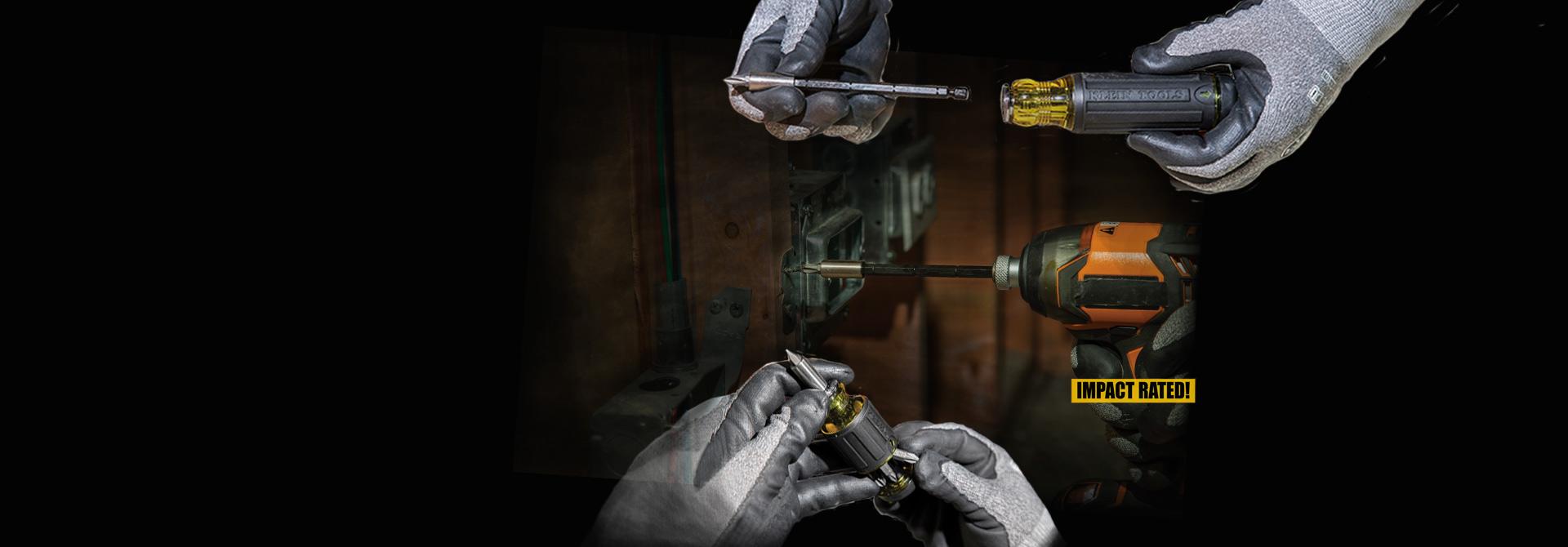 2 Adjustable \r\nMulti-Bit \r\nScrewdrivers
