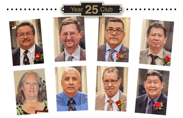 Klein Tools 25 Year Club - 2016 Inductees