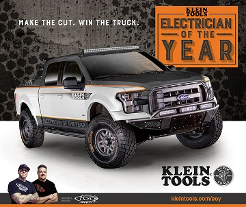 Addictive Desert Designs partners up with Klein Tools for the 2015 Electrician of the Year
