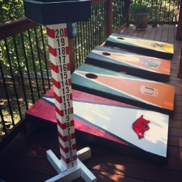 Bean Bag Toss Boards