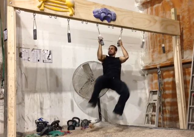 how to become a ninja warrior at home
