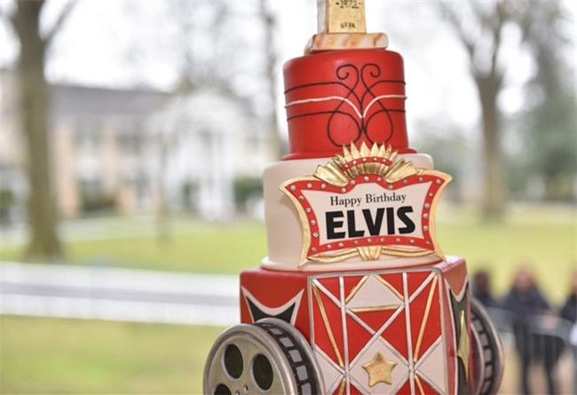 Graceland hosts a full weekend of activities every year to celebrate Elvis' birthday.
