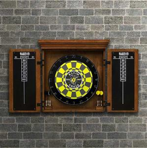 Klein Tots Home-site Collection - Heavy-Duty Dartboard Cabinet
