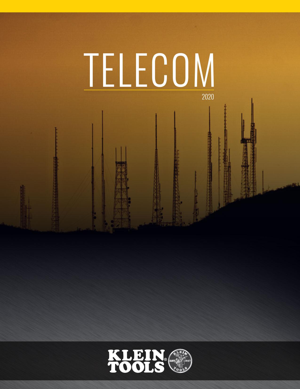 Klein Tools - Telecom Catalog