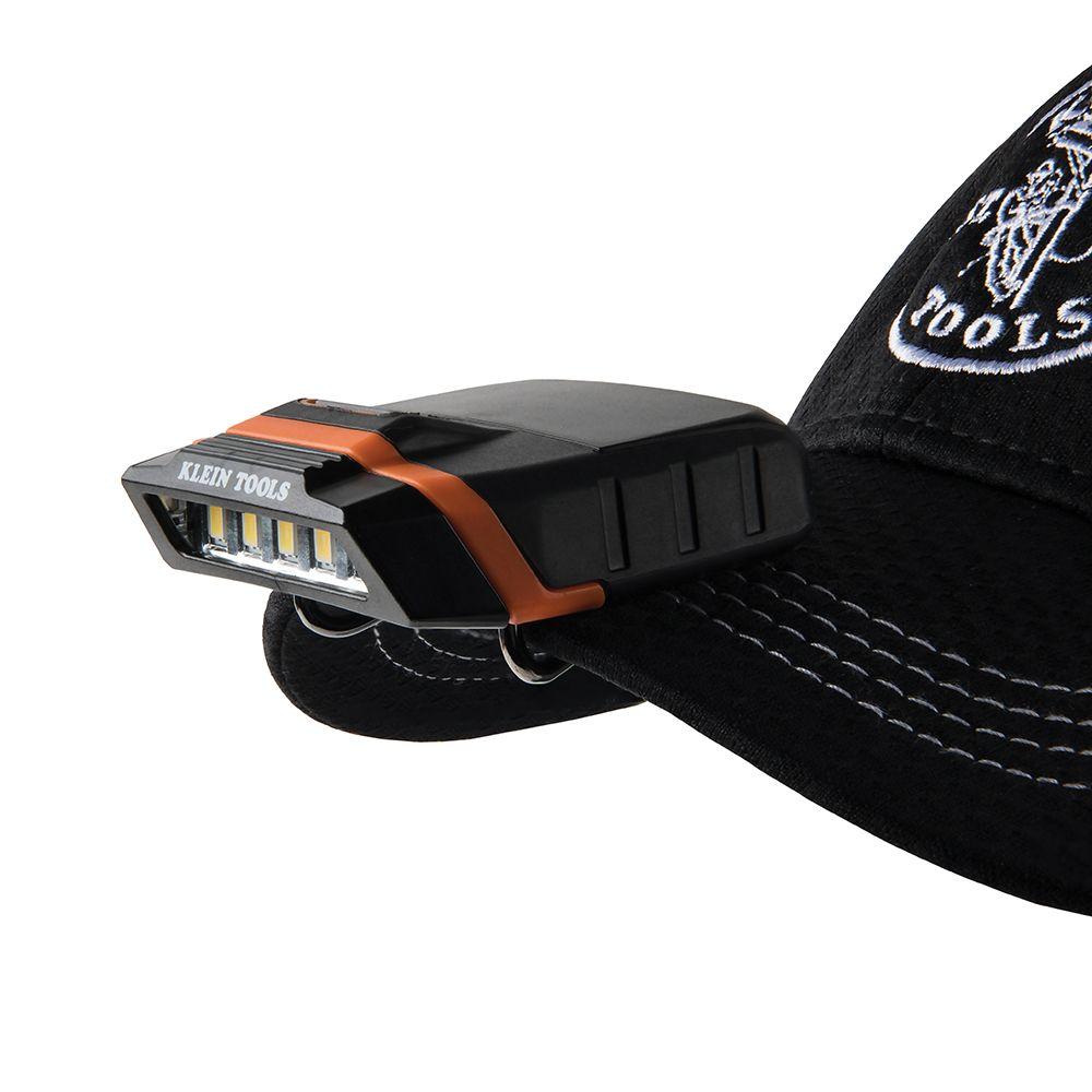 Linterna LED para viseras de gorras