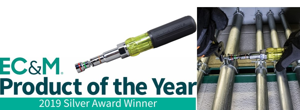 EC&M Product of the Year - Klein Tools 7-in-1 Nut Driver (32807MAG)