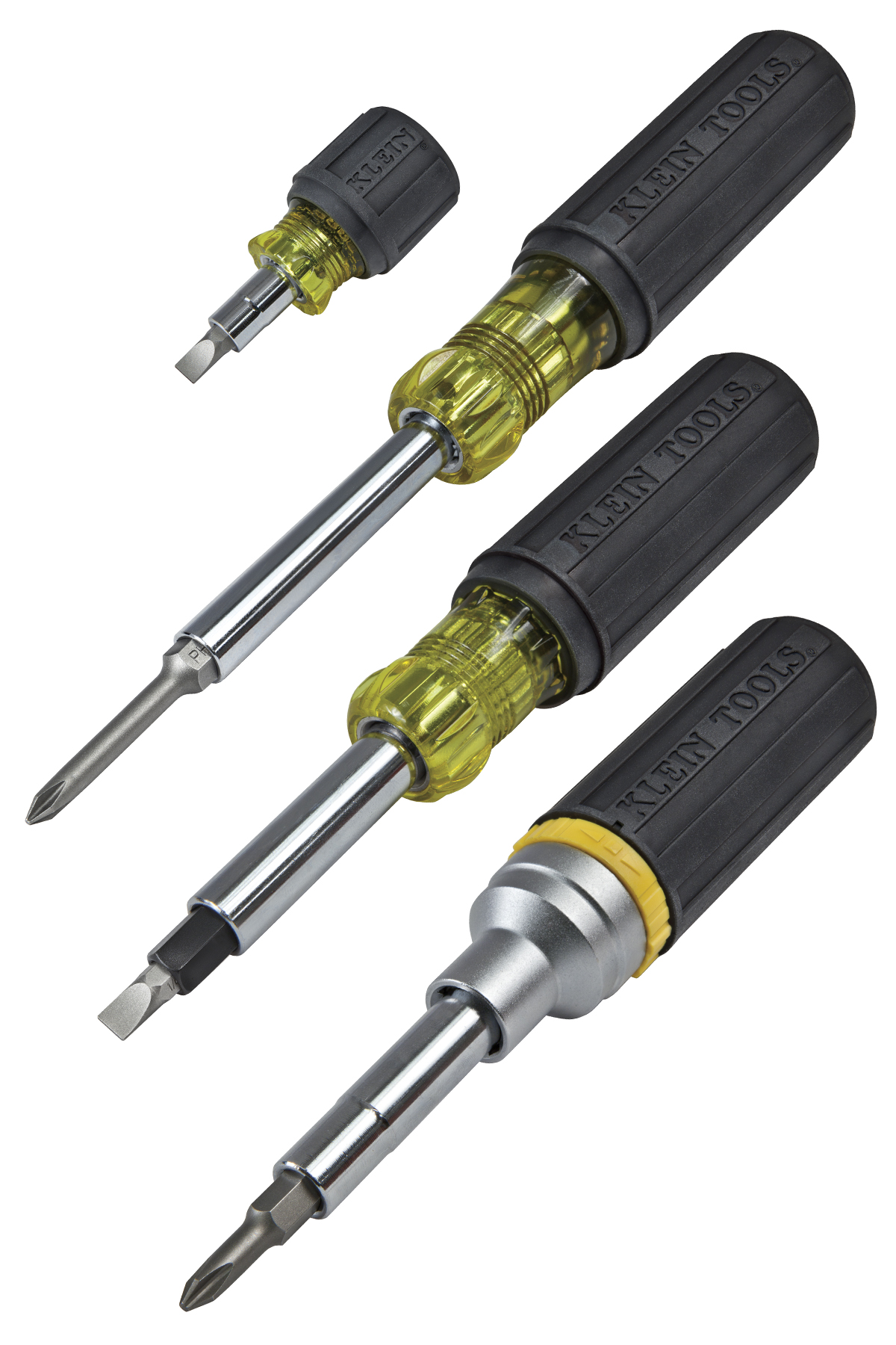 Interchangeable Multi-Bit Screwdrivers/Nut Drivers