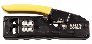 Klein VDV Compact Ratcheting Modular Crimper