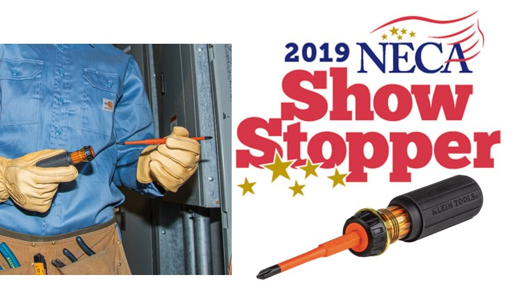 NECA Showstopper - Klein Tools Flip-Blade Insulated Screwdriver (32293)