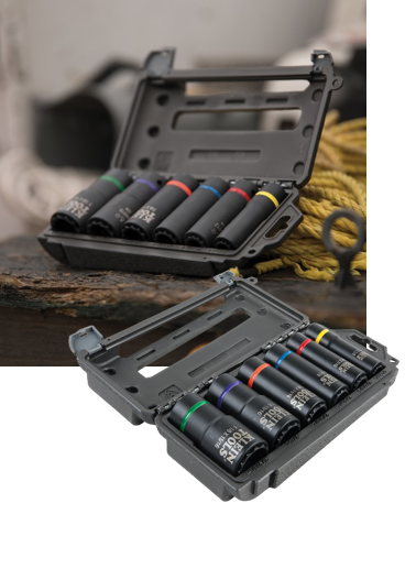 Klein Tools 2-in-1 Impact Socket Set (66010)