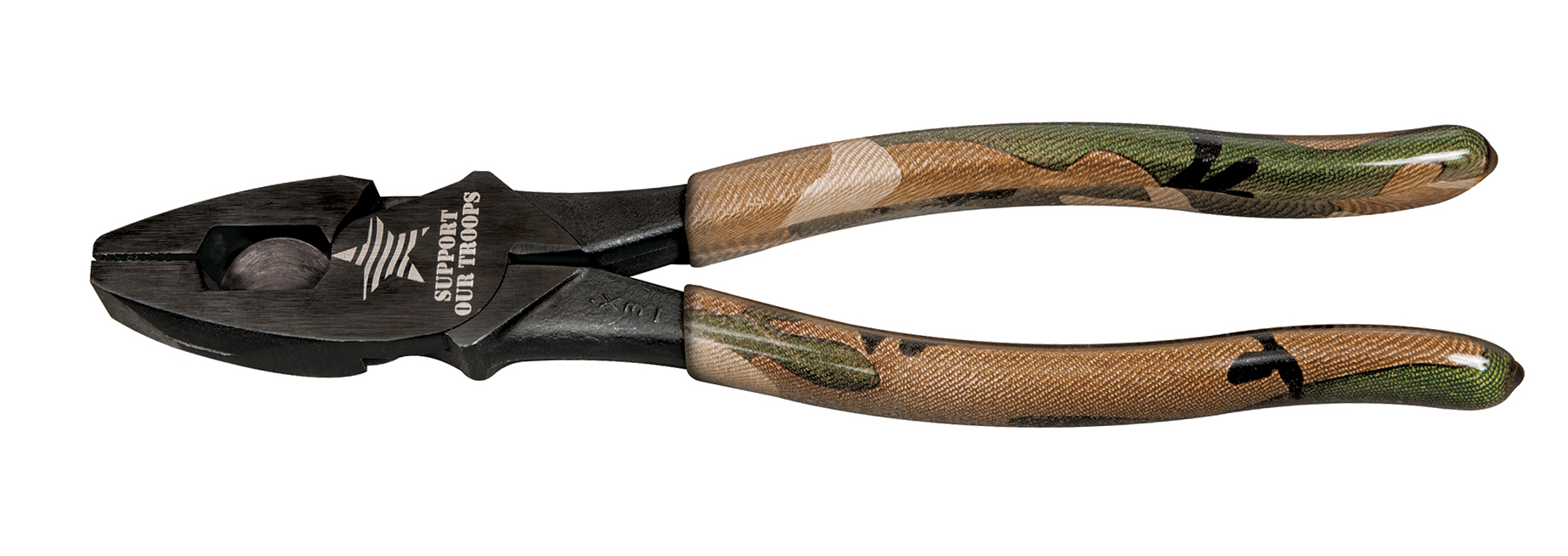 camouflage side cutting pliers