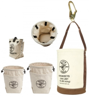 Ironworker Pouches and Bucket