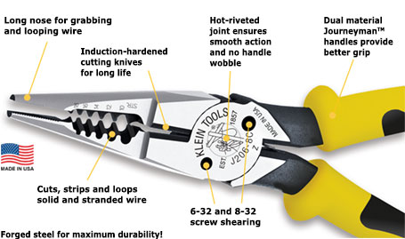 All-Purpose Pliers Features