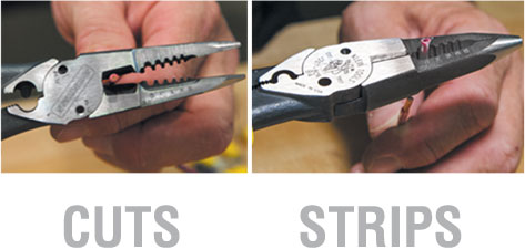 All-Purpose Pliers cuts & strips
