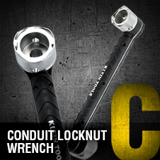 A to Z – Conduit Locknut Wrench