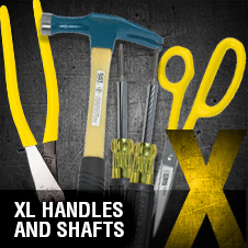 A to Z – XL Handles and Shafts